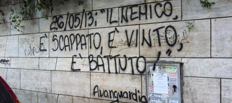 Amore e politica sui muri di roma nord - Scritte muri casa ...