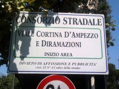 Via Cortina d'Ampezzo