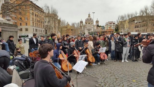 concerto licei musicali a Ponte Milvio 1