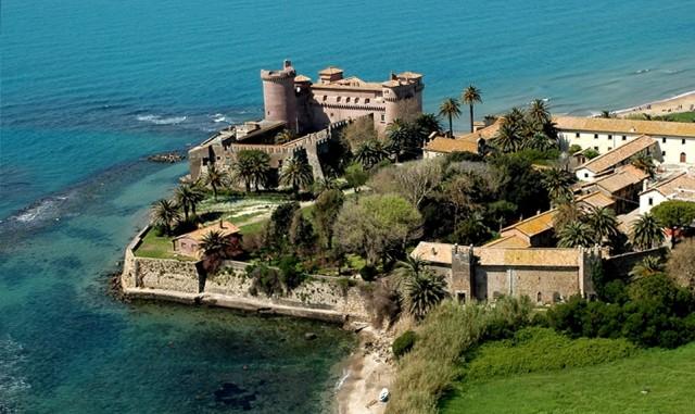 Il castello di santa severa un 39 esperienza da non perdere for Piani di casa castello medievale