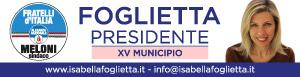 Isabella Foglietta candidato presidente XV Municipio