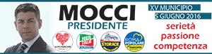 Giuseppe Mocci candidato presidente XV Municipio