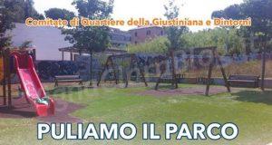 Puliamo il parco Luciano Ricca
