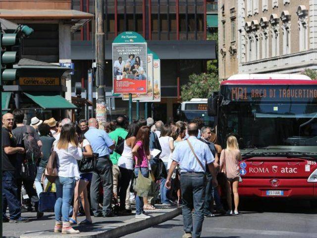 Roma: riprogrammato il servizio del trasporto pubblico
