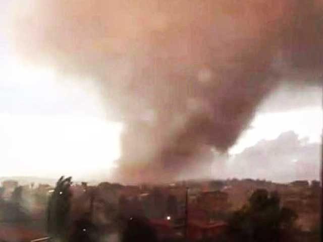 Roma, tornado devasta il centro abitato di Cesano: un morto