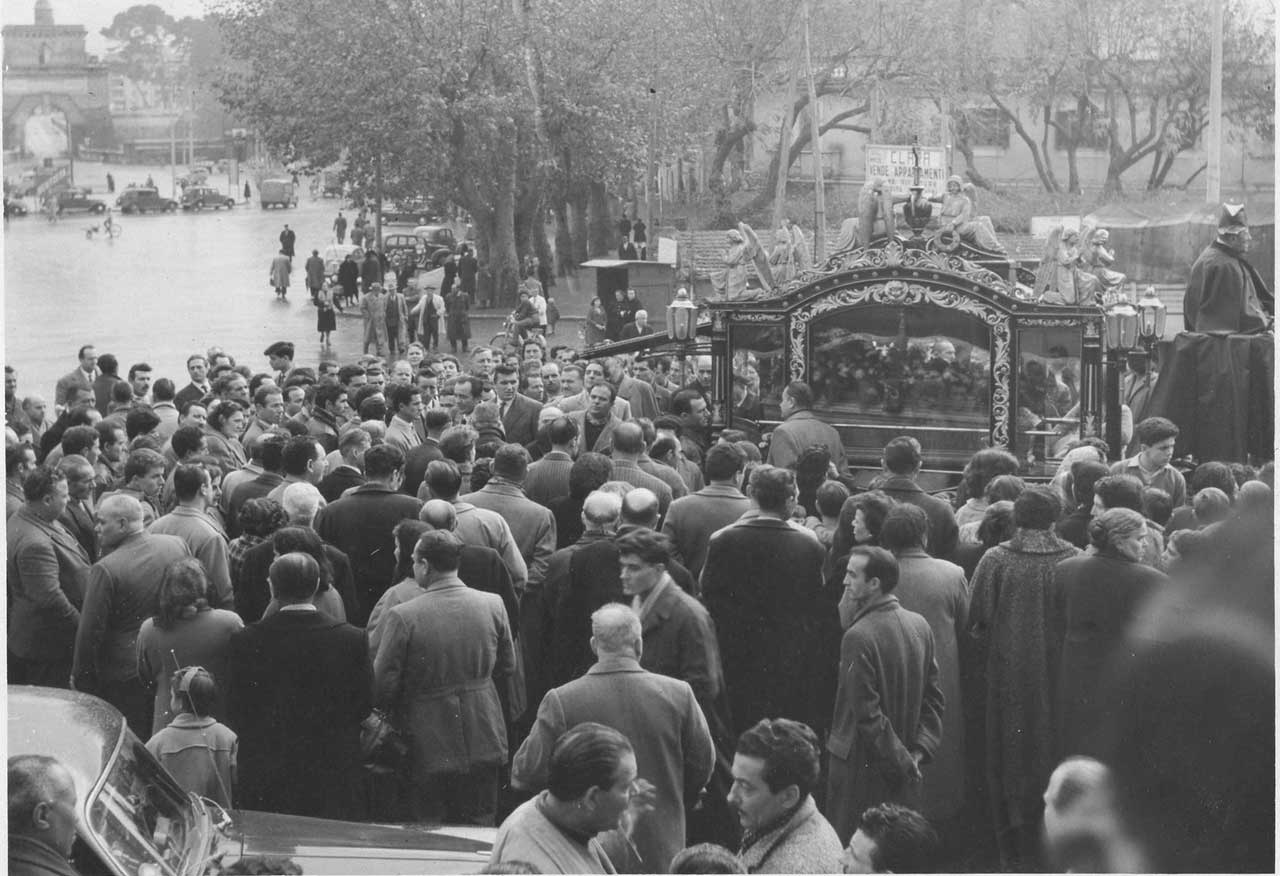 funerale a ponte milvio
