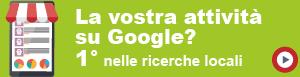 La vostra attività su Google?