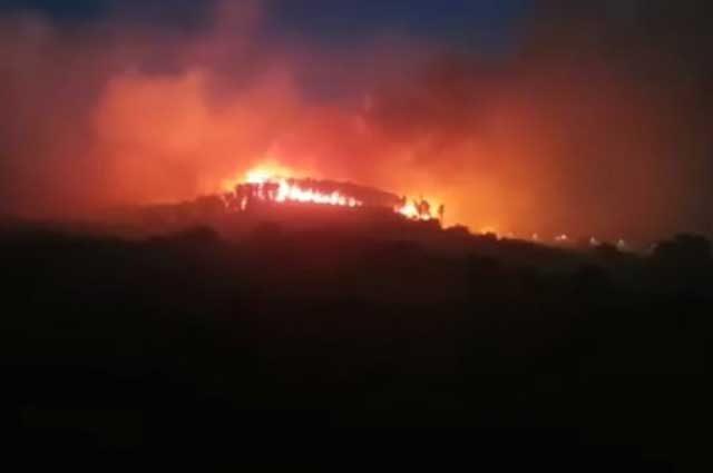 Vasto incendio a Cesano: evacuata casa di cura
