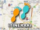 Mappa Itinerari Roma Nord