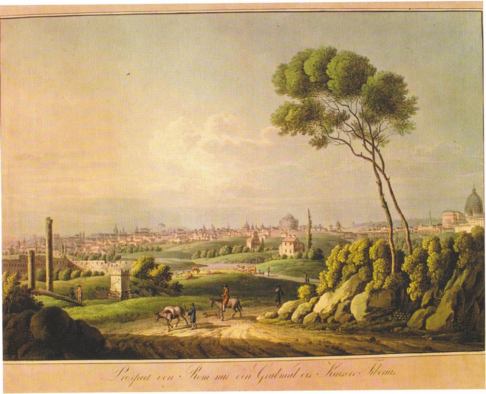 Acquaforte di Tommaso Cuccioni del 1840