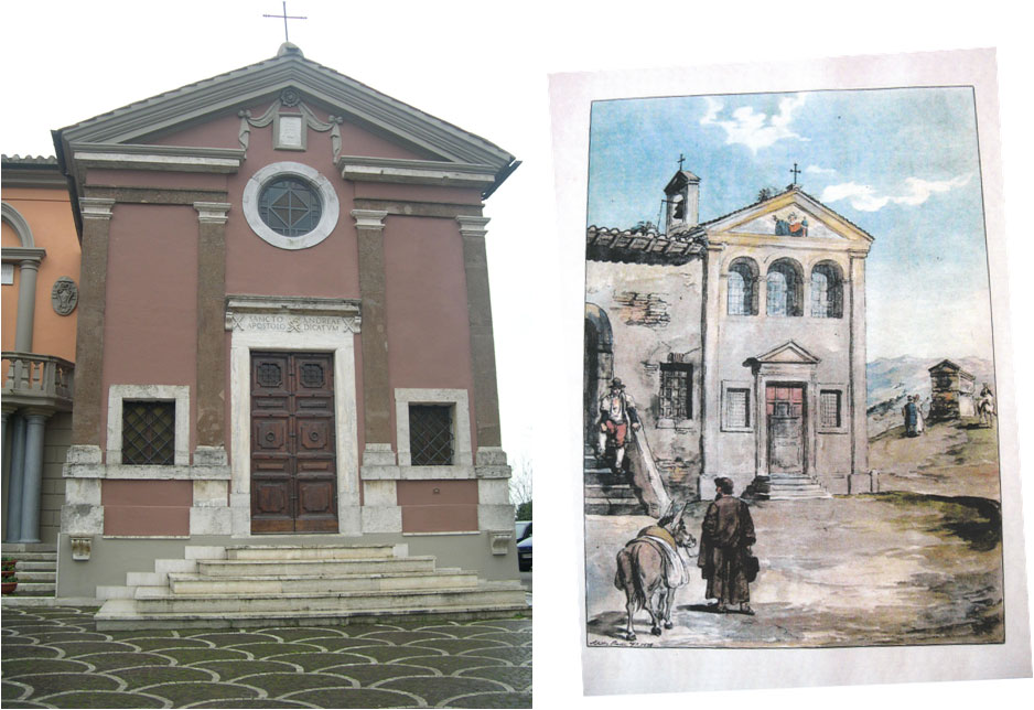 Veduta della chiesa di S. Andrea