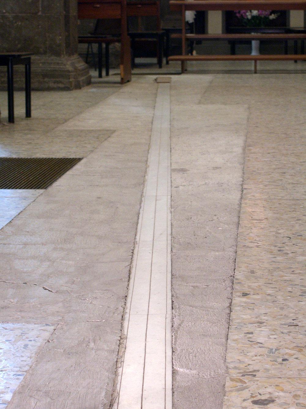 Linea meridiana S.Lorenzo a Formello
