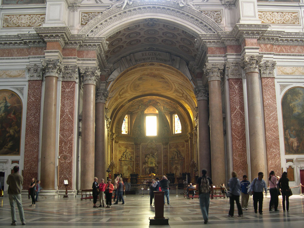 la Basilica di S.Maria degli Angeli