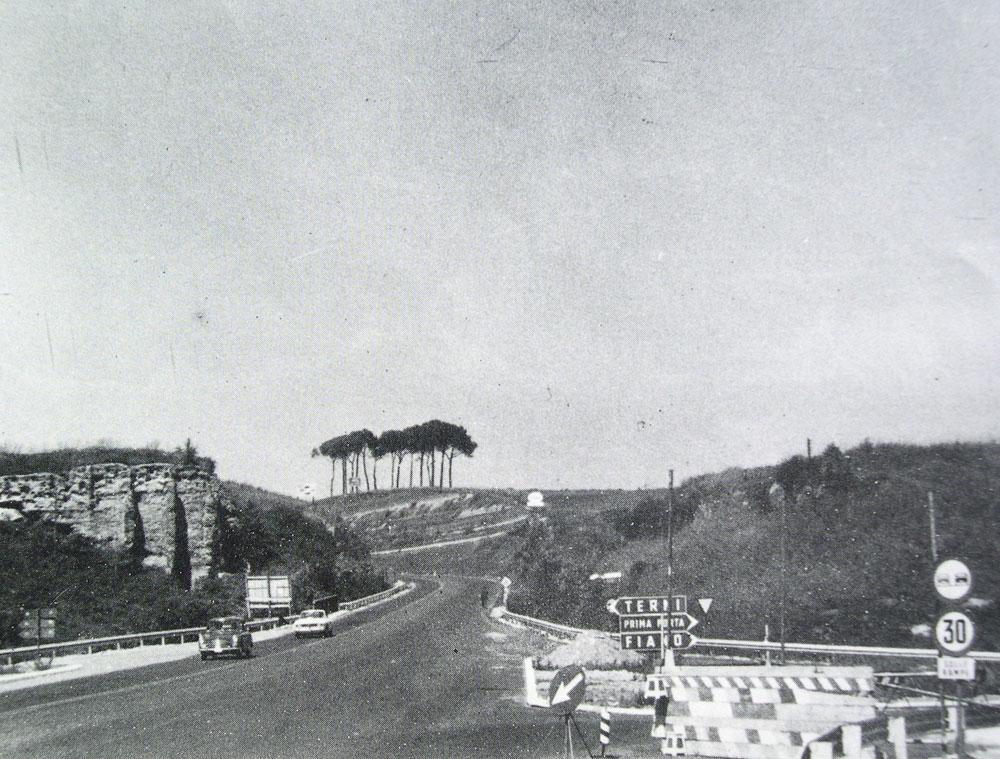 Una fotografia dell'epoca