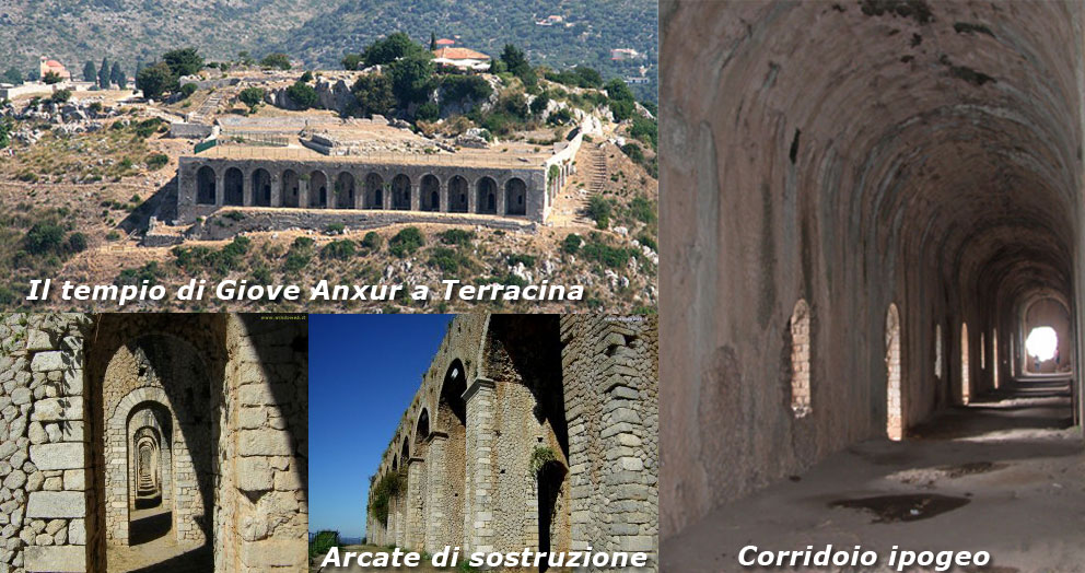 Tempio di Giove Anxur a Terracina