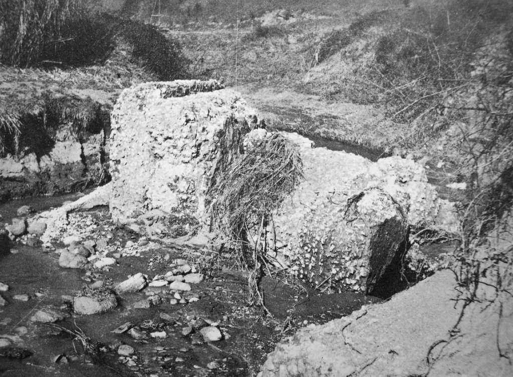 Rudere del mausoleo via veientana foto perkins 1962