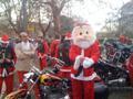 Babbi Natale Harley a Ponte Milvio