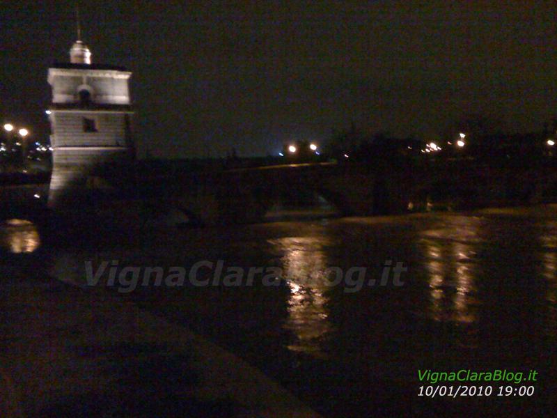 Ponte Milvio 10 gennaio 2010 ore 19
