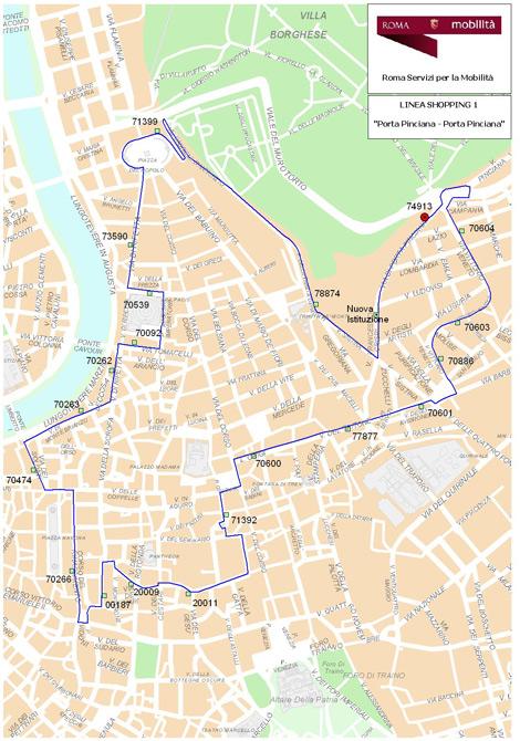 Linea 1 - Scarica Mappa in Formato PDF