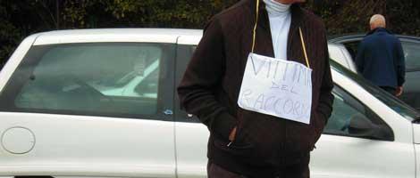 manifestazione via volusia 10.12.2011