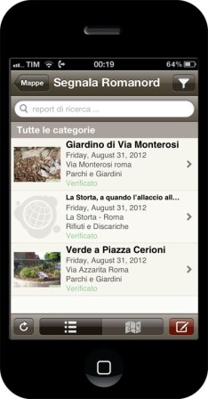 Segnala Roma Nord su Ipad o su Iphone