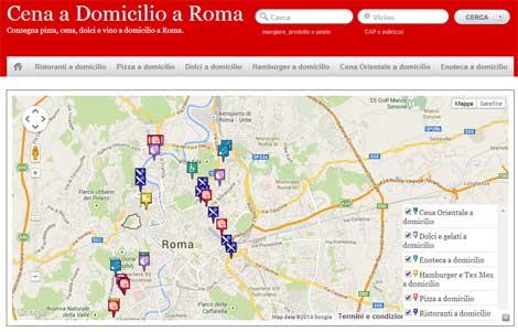 Portale a domicilio roma