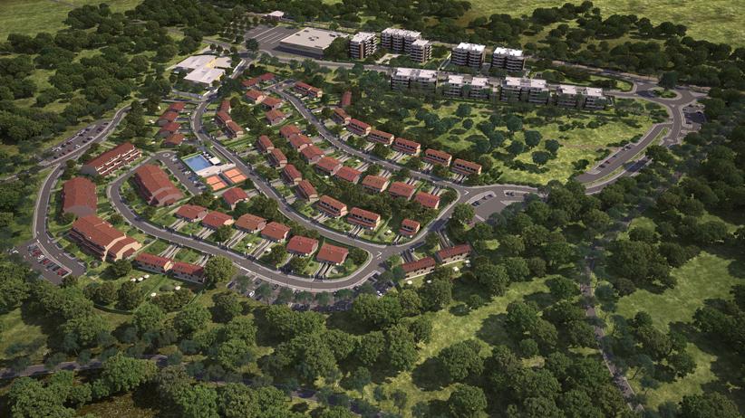 Il Progetto del Parco di San Nicola all'Olgiata