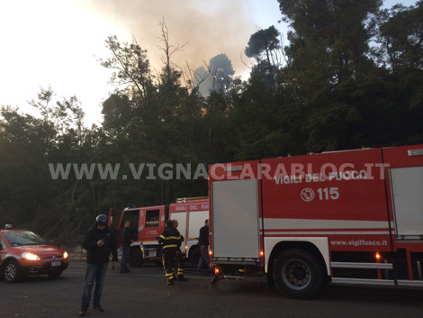 Incendio Farnesina