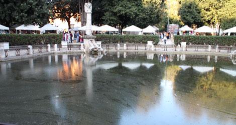 Lo stagno di piazza mazzini - Mercatino di natale piazza mazzini roma ...