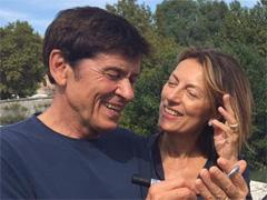 Gianni Morandi ed i lucchetti a Ponte Milvio