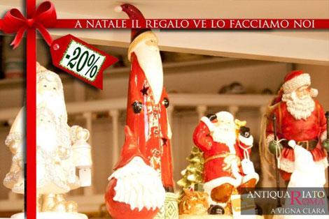 Babbo Natale in ceramica