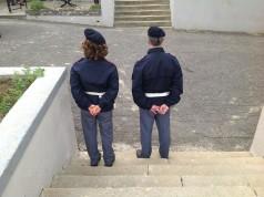 polizia a piedi