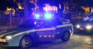 Polizia notte corso francia