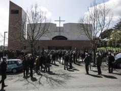 funerali di Elisa Scarascia Mugnozza