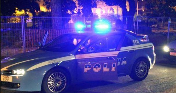 polizia tre rapinatori