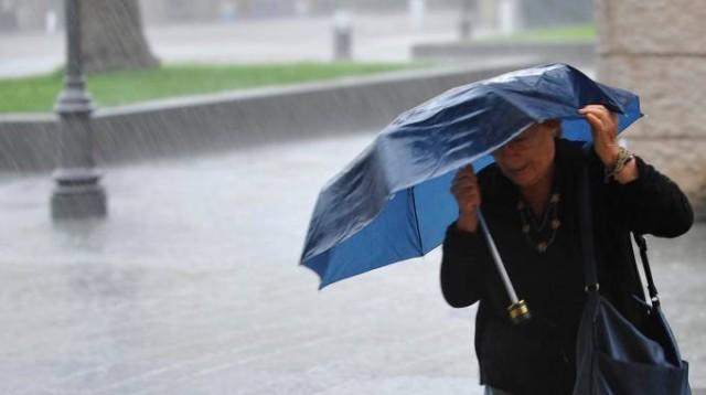 pioggia temporali