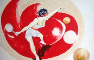 tennis quadro