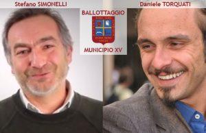 Ballottaggio Simonelli Torquati XV Municipio