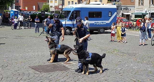Polizia di Stato Unita Cinofile Ponte Milvio