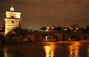 ponte milvio notte