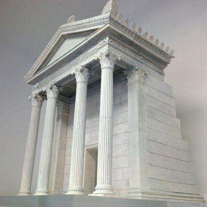 Plastico Mausoleo Marco Nonio Macrino