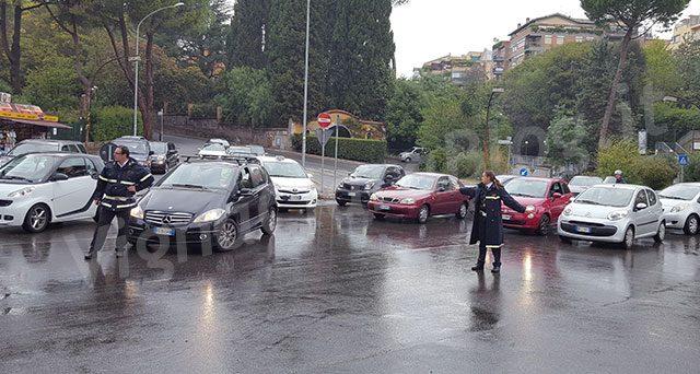 caos traffico