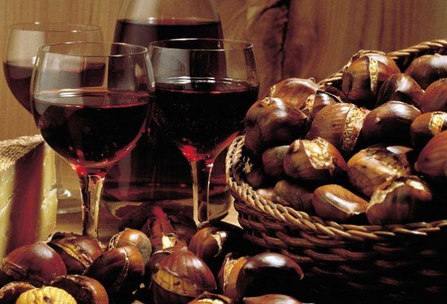 castagne e vino formello
