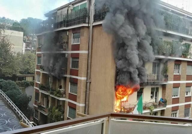 fiamme via sagramoso