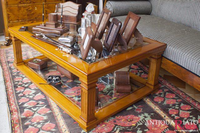 Tavolo da salotto in ciliegio