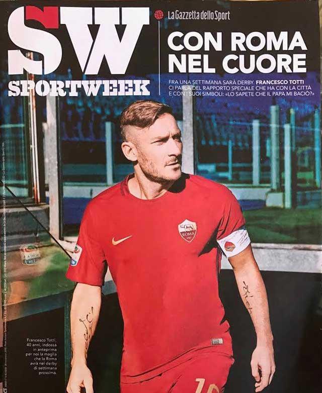 copertina sportweek