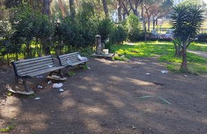 I vandali del Sabato sera a Parco Volpi