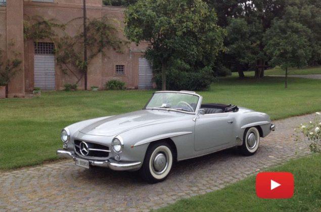 Noleggio Mercedes SL 190 del 1956