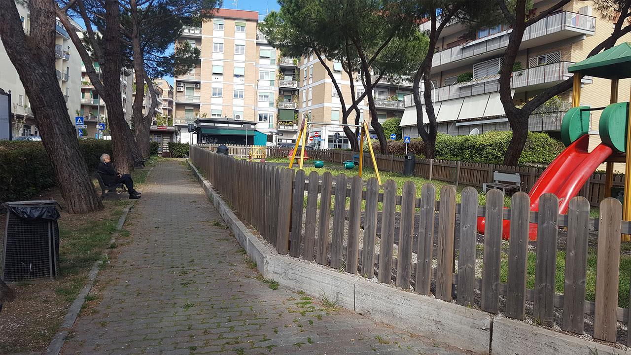 Parco Belloni a Vigna Stelluti