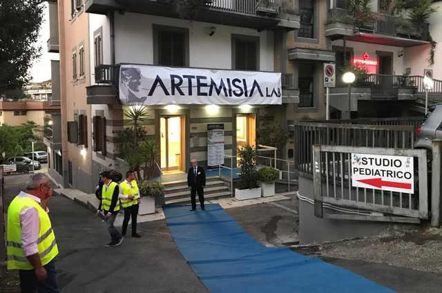 Artemisia lab via Cassia 536
